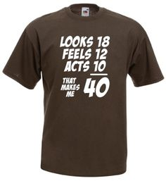 40th birthday shirts for men - Google Search