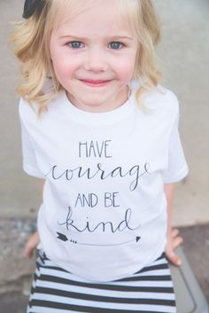For Kailey Have Courage and Be Kind shirt for kids! Inspired by the new Cinderella movie, this is the ultimate inspirational tee, perfect for your littles! Vinyl Shirts, Kids Shirts, T Shirts For Women, School Shirts, T Shirt Designs, Vinyl Designs, New Cinderella Movie, Have Courage And Be Kind, Disney Shirts
