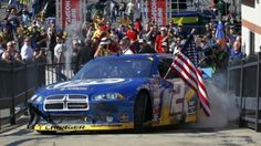 Brad Keselowski wins at Bristol on 18 Mar 2012!