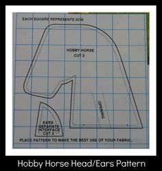 How to make a Hobby Horse - fantastic can't wait to make one for each of the Grandchildren xxx