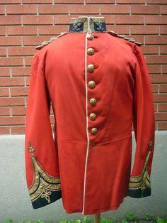 1881 LEINSTER REGT OFFICERS FULL DRESS TUNIC