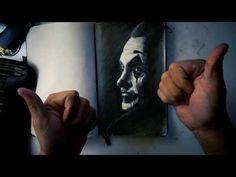 Cómo dibujar al JOKER ✍️ how to draw the Joker 2019 - YouTube Joker, Portrait, Tattoos, Youtube, Pintura, Art, How To Draw, Drawings, Tatuajes