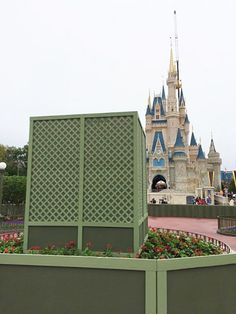 "Paint Tricks: Use Disney's ""Go Away Green"""