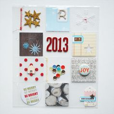 December Daily 2013 : album + opening page by nicolereaves at @Studio_Calico