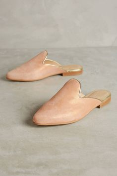 84d0f73acbcc04 Chatelles Edgar Metallic Slides - Anthropologie Classic Wardrobe