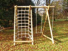 Garden Play - Climbing Frames - Page 1 - Caledonia PlayCode: SFNX Size: 3.00 x 2.50 x 2.60m Price: £465.00
