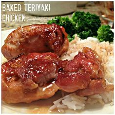 Today I am sharing a great Tried and True recipe that my entire family loved and gave 5 stars, BAKED CHICKEN TERIYAKI...            This ...