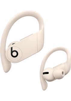 Powerbeats Pro - Add to Cart - Beats by Dre Beats By Dre, Beats Earbuds, Pink Noise, Apple Inc, Wireless Headphones, Ivory, Headset, Gym Bags, Technology