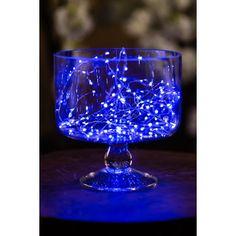 Blue Fairy Lights Led String 120