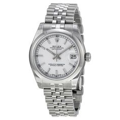 Datejust White Dial Automatic Stainless Steel Ladies Watch