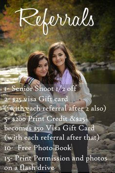 The Referral program is great!!!