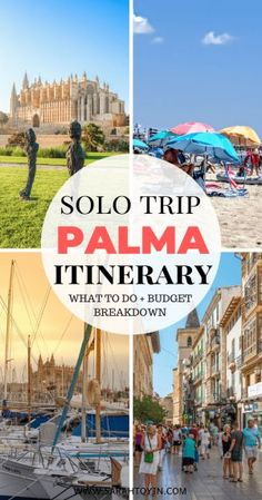 Visiting Palma soon for a weekend and wondering about the things to do there? Check out this itenerary and budget breakdown to help you on your trip. #spain #thingstodo #cathedral