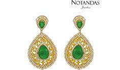 Notandas Jewellers unveil its Elegant Emerald Jewellery Collection