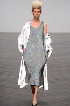 holographic sequins that remind me of TV snow... YES ASHISH