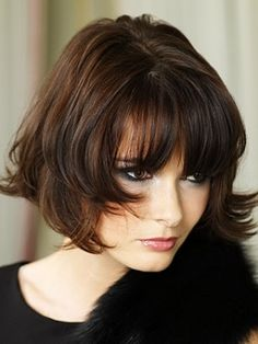Cute hairstyle, great color May feel a bit messy for my Type 4 personality