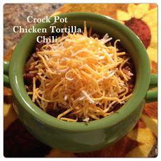 Crock Pot Chicken Tortilla Chili
