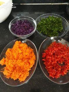 İkramlık Renkli Patates Topları - Leziz Yemeklerim Grains, Karma, Food, Meals, Korn