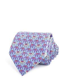 Thomas Pink Elephant Parade Classic Tie