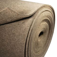 SAE F-7 Felt is made of minimum 80% gray wool and has a density of 0.25-0.27 g/cm3. F-7 is recommended for dust shields, wipers, grease retainer washers, wicks, vibration absorption and other uses where resilient felt is needed.  Available in a variety of thickness and length. * Natural wool is used, slight color variation may occur*
