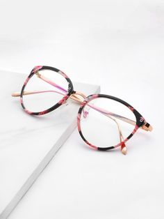 037bd87fc89d9 Skinny Frame Clear Lens GlassesFor Women-romwe Eyeglasses Frames For Women