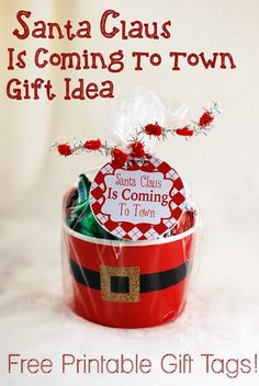 Santa Claus is Coming to Town gift idea