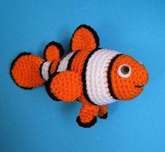 Crochet Pattern PDF poisson CLOWN