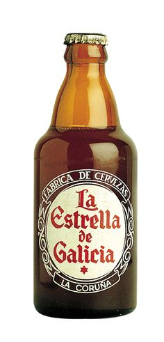 Botella de Estrella Galicia Especial en 1950, My only beer in Galiza !!!!