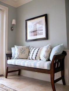 Sleepy Blue by Sherwin Williams Best Paint Colors for Your Home: LIGHT BLUES @ Remodelholic