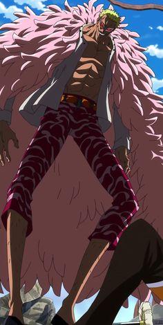Don Quichotte de Flamingo – OPwiki - Das Wiki für One Piece One Piece Manga, One Piece Drawing, One Piece Comic, Sasuke, Naruto, Doflamingo Wallpaper, One Piece Zeichnung, Chibi, One Piece Images