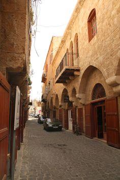 LEBANON, A BYBLOS STREET SCENE