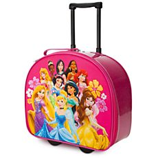 Princesses Luggage Pink