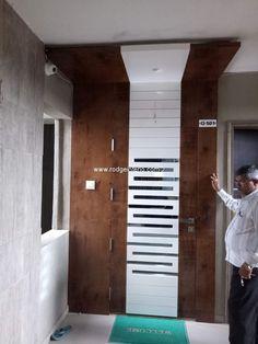House Main Door Design, Wooden Front Door Design, Double Door Design, Pooja Room Door Design, Ceiling Design Living Room, Door Design Interior, Interior Design Photos, Interior Modern, Modern Entrance Door