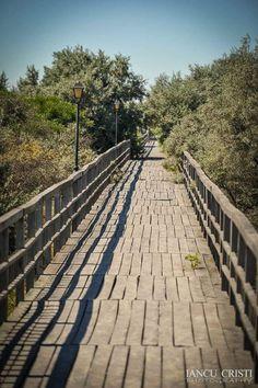 Railroad Tracks, Sidewalk, Places, Side Walkway, Walkway, Walkways, Lugares, Train Tracks, Pavement