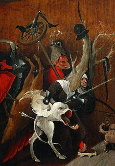 BOSCH Jheronimus - Dutch ('s-Hertogenbosch 1450-1516) -  Temptations of Saint Anthony