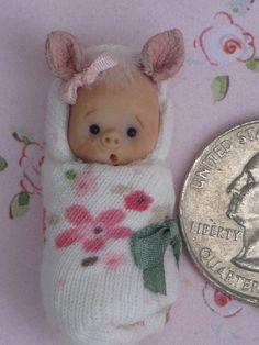 Pig In A Blanket by ElfinHugs, via Flickr.