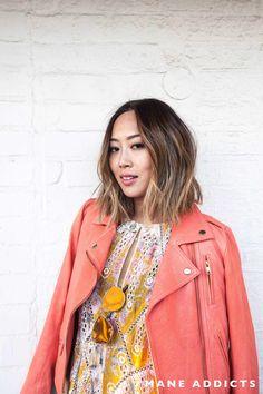 Aimee Song, Song of Style, blogger, bob, lob, short hair, asian hair, hair transformation, Ramirez-Tran Salon, ombre, balayage, Anh Co Tran
