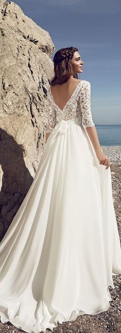 Featured Dress: Lanesta Bridal; Wedding dress idea.