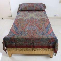 Warmer Blanket Wool Indian Bedspread Decor Home Furnishing