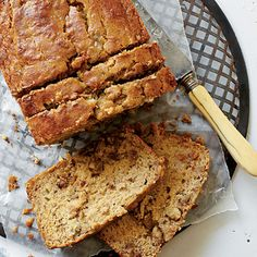 Gluten-Free Banana Bread | Brown rice flour and sorghum flour (in the organic section of supermarkets) make a bread so tender, you won't believe it's gluten-free. For best results, use a light-colored pan. Or, turn your dark pan into a shiny one by wrapping the outside of it with heavy-duty aluminum foil.