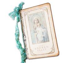 Madonna Journal Devotional Travel Journal Prayer by lacegrl130, $9.50
