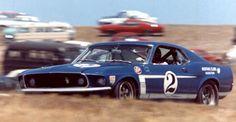 Dan Gurney 1969 Boss Mustang Trans Am