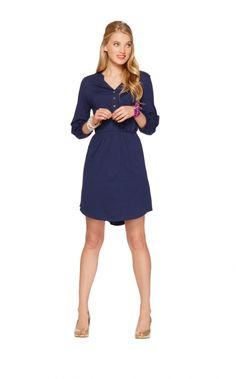 Lilly Pulitzer Beckett Dress, True Navy $108.00