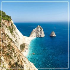 Located in the heart of the Ionian Sea and known as Greece's greenest island, the mesmerising Zakynthos boasts a breathtaking natural landscape with towering mountains and snow-white sandy beaches featuring unbelievably turquoise sea colour. #InGreeceWithTLTB Winter Sun Destinations, Sea Colour, Sandy Beaches, Luxury Travel, Greece, Snow White, Africa, Tower, Turquoise