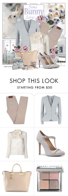 """""""Easter bunny"""" by artifashion-intelligence ❤ liked on Polyvore featuring Elite, Acne Studios, Armani Collezioni, Yves Saint Laurent, Sole Society, Sophie Hulme, Bobbi Brown Cosmetics and Linda Farrow"""