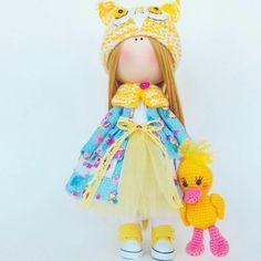 Tilda doll Interior doll Handmade doll Soft doll Textile doll Art doll Cloth doll Beige doll Fabric doll Rag doll Baby