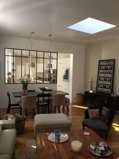 raam in atelier Interior Design Living Room, Living Room Designs, Living Room Decor, Home Staging, Style At Home, Sweet Home, Interior Windows, Küchen Design, Home Furniture