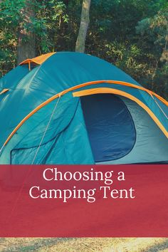 Tents come in all shapes and sizes. If you're car camping, a dome-shaped tent might be best to give more room and comfort. However if backpacking is your thing, then an ultralight 2-person tent will work better (and save weight). We've got you covered with what to look for when buying a tent! 2 Person Tent, Camping Accessories, Tent Camping, Tents, Backpacking, Outdoor Gear, Shapes, Car, Room