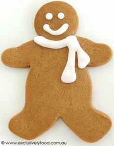 """Exclusively Food: Gingerbread Men Recipe:  Good rec. Not a very strong one so it is good for the people that """"don't really like ginger"""". My mum is not a fan, but still liked as a general spice taste."""