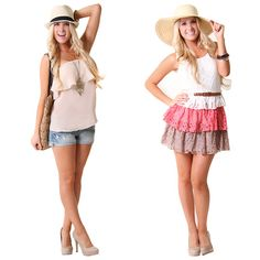 #stylesforless ...#Outfit Vote! Which ruffle look would you wear? both
