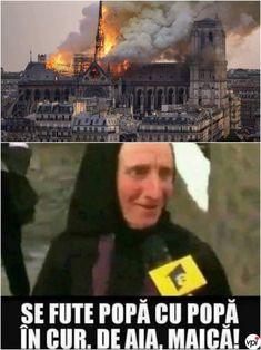 De ce a luat foc Catedrala Notre Dame - Viral Pe Internet Notre Dame, Jokes, Humor, Funny, Movie Posters, Internet, Nice, Husky Jokes, Humour